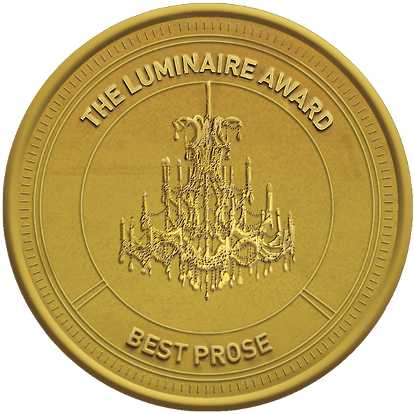 Luminaire Prose Award gold logo and link