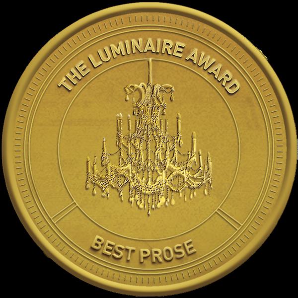Luminaire Prose Award gold logo and link