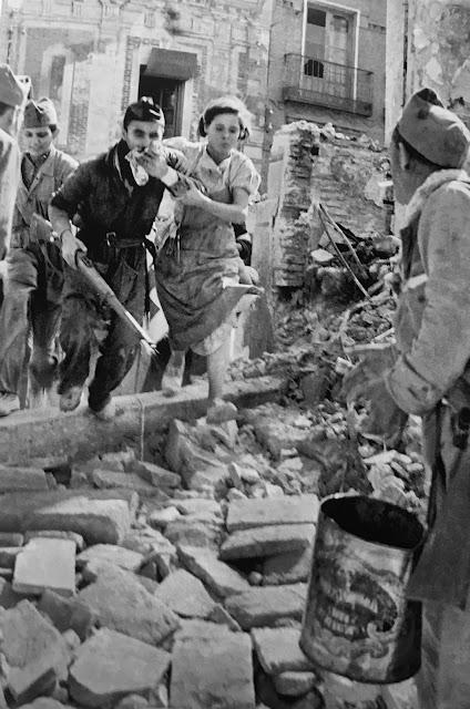 toledo guerra civil española mujeres miliciana