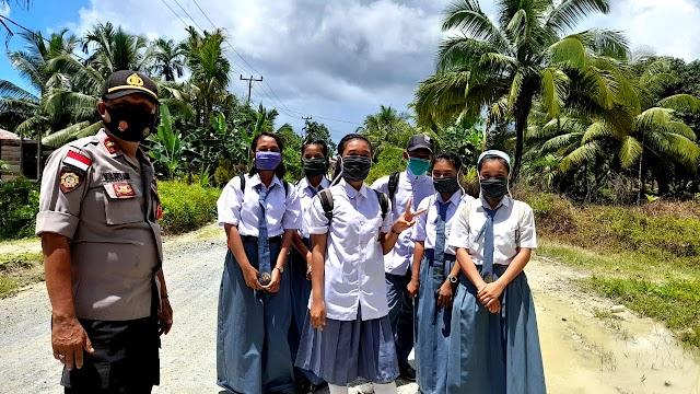 TNI -Polri Edukasi Pelajar Terhadap Penerapan  Perda No 6 Tahun 2020 || dutametro