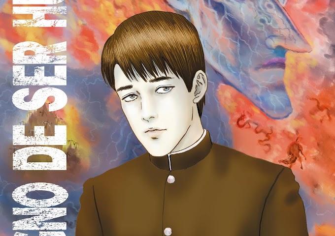 Indigno de ser humano de Junji Ito, a partir de la obra de Osamu Dazai