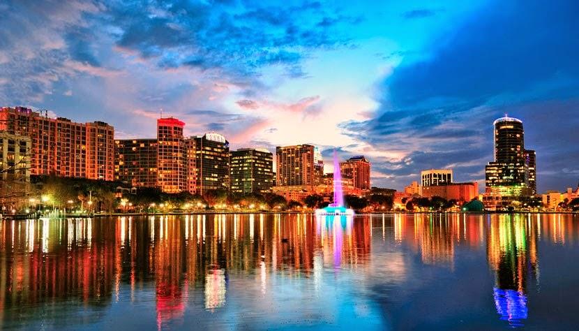 Passagem aérea para Orlando