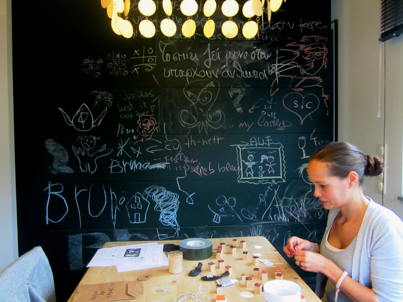 Adamseva hinter den kulissen easy kurbisrezept for Tafelwand küche