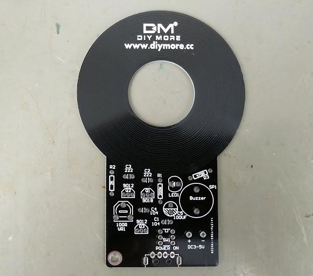 Placa detector de metais