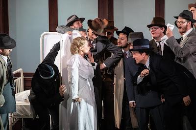 Verdi: Un ballo in maschera - Anne Sophie Duprels - Opera Holland Park 2019 (Photo Ali Wright)