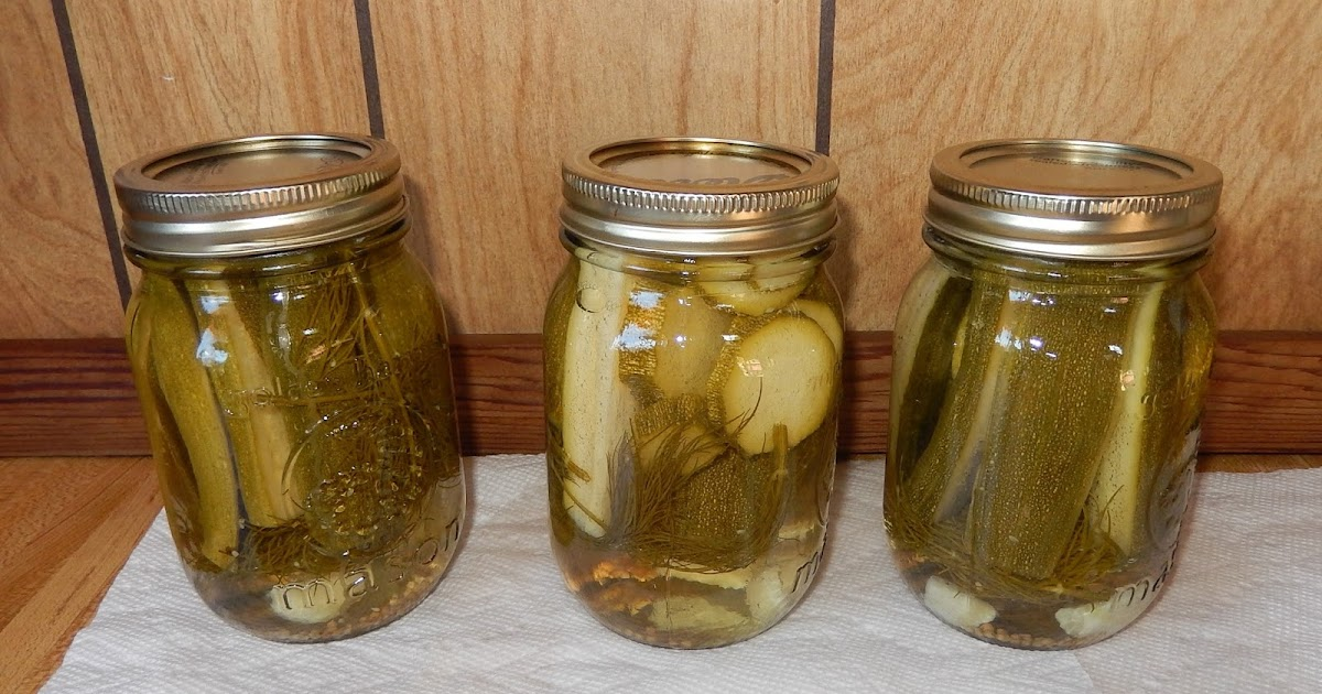 Powell River Books Blog: Canning: Zucchini Dill Pickles