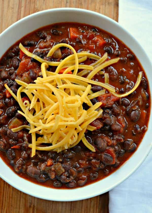 Chipotle Black Beans recipe a simple cheap, flavorful and inexpensive meal that's healthy and delicious from Serena Bakes Simply From Scratch.