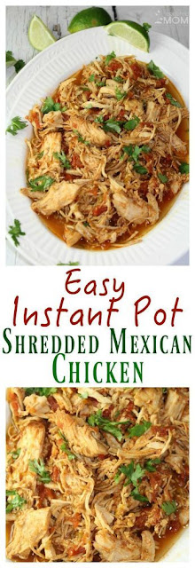 Instant Pot Shredded Mexican Chicken