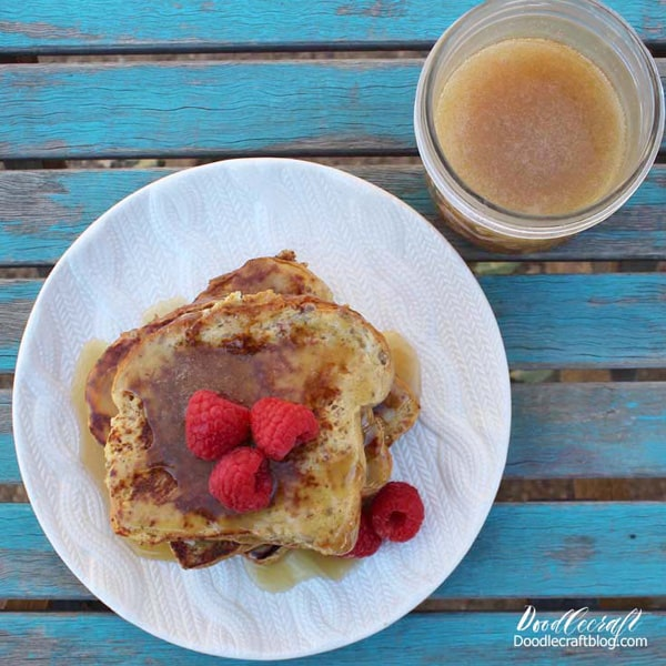 French Toast with Buttermilk Syrup brunch