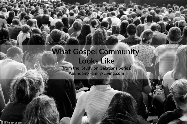 What Gospel Community Looks Like
