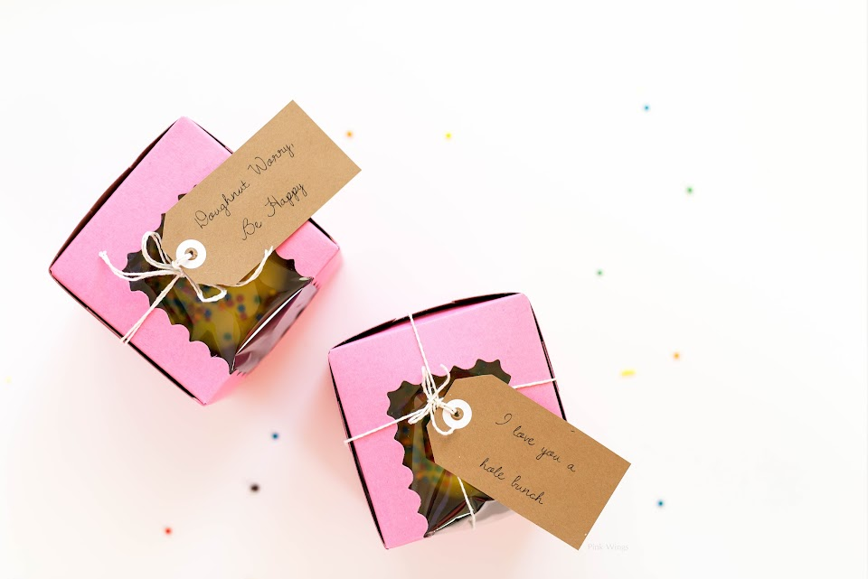 dougnut donut gift package, every day gift, whenever gift, husband boyfriend anyone easy cheap gift