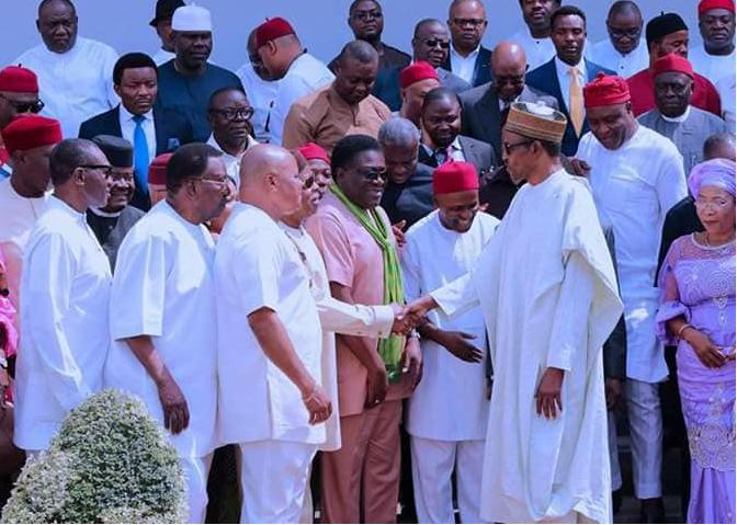 President Buhari's meeting with South East APC leaders