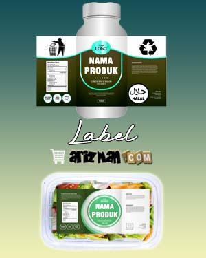 Label Produk - Label Kemasan