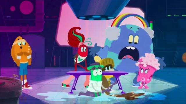 Triviatopia série animada