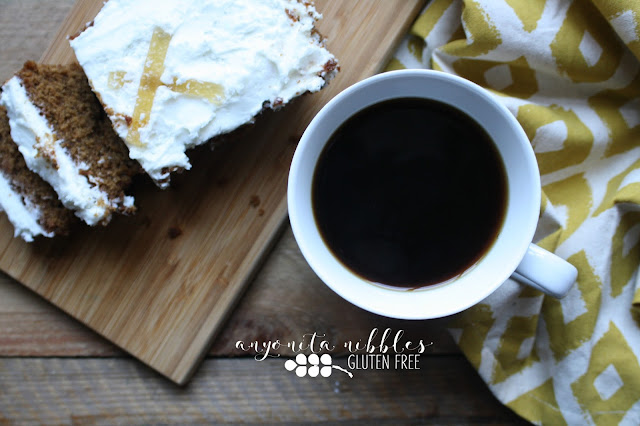 Mr Kipling Gluten Free Ginger and Lemon Loaf Cake and Coffee | Anyonita-nibbles