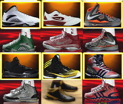 NBA 2K13 Roster - Assigned Shoes