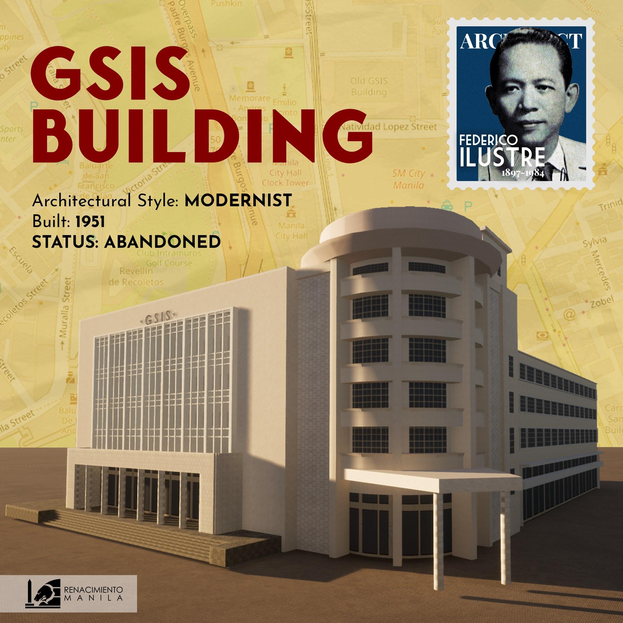 GSIS Building - Federico Ilustre (1912-1989)