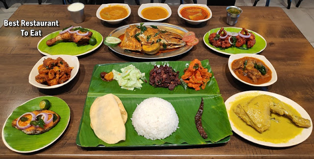 Halal Banana Leaf Rice Feast