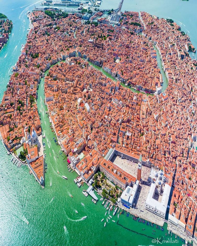 Incomparable Venice from a bird's eye view