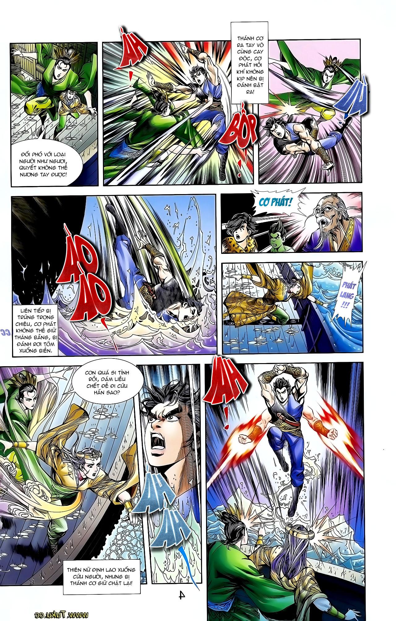 Cơ Phát Khai Chu Bản chapter 128 trang 28