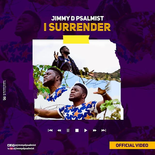 VIDEO+AUDIO:  JIMMY D PSALMIST - I SURRENDER  | @jimmydpsalmist @7promediang