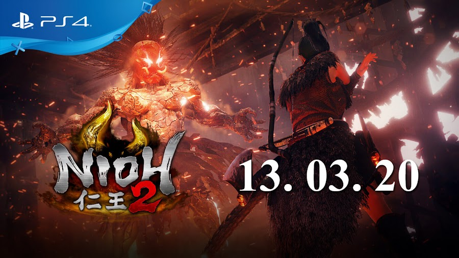 nioh 2 release date march 2020 ps4 open beta november 2019 team ninja koei tecmo games sony interactive entertainment