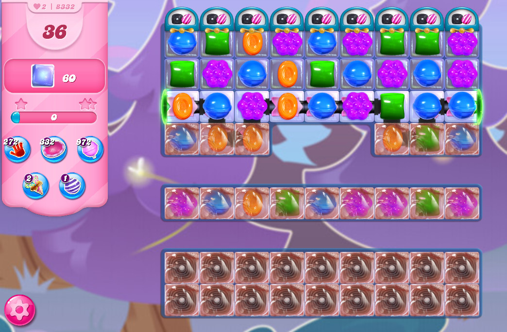 Candy Crush Saga level 8332