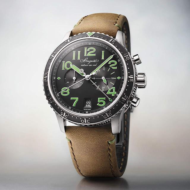 Breguet Type XXI 3815 Green Limited Edition 3815 TI/HM/3ZU