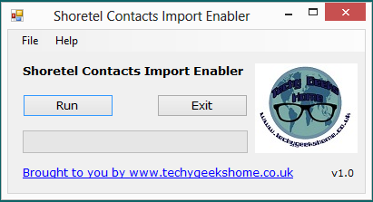 Shoretel Contacts Import Enabler Released 4