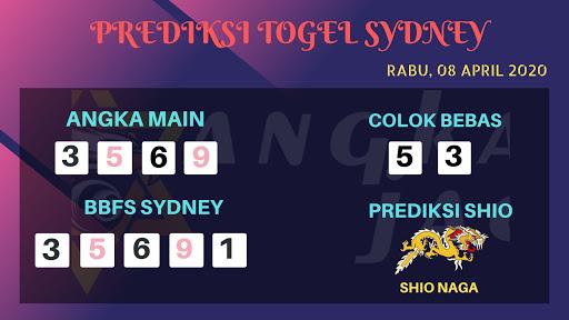 Syair Sidney Rabu 08 April 2020 - Prediksi Angka Jadi