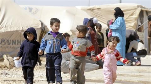 Environ 3,7 millions d'enfants réfugiés dans le monde sont privés de scolarisation