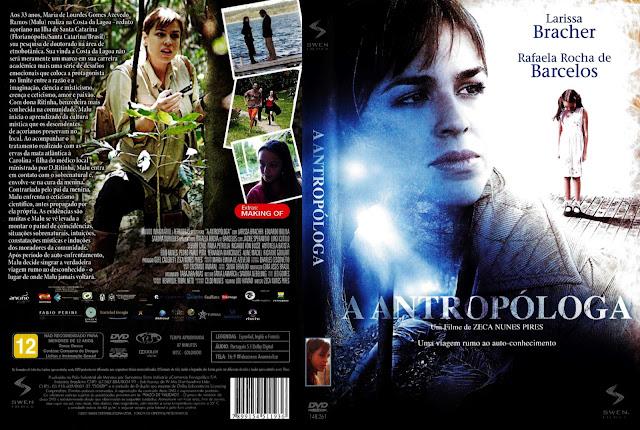 Capa DVD A Antropóloga