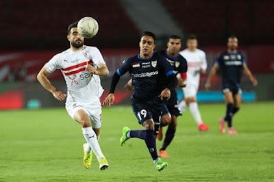 ملخص واهداف مباراة الزمالك والانتاج الحربي (2-0) الدوري المصري