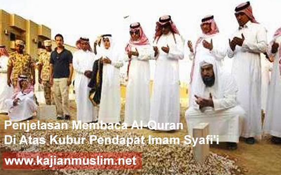 Membaca Quran Diatas Kubur