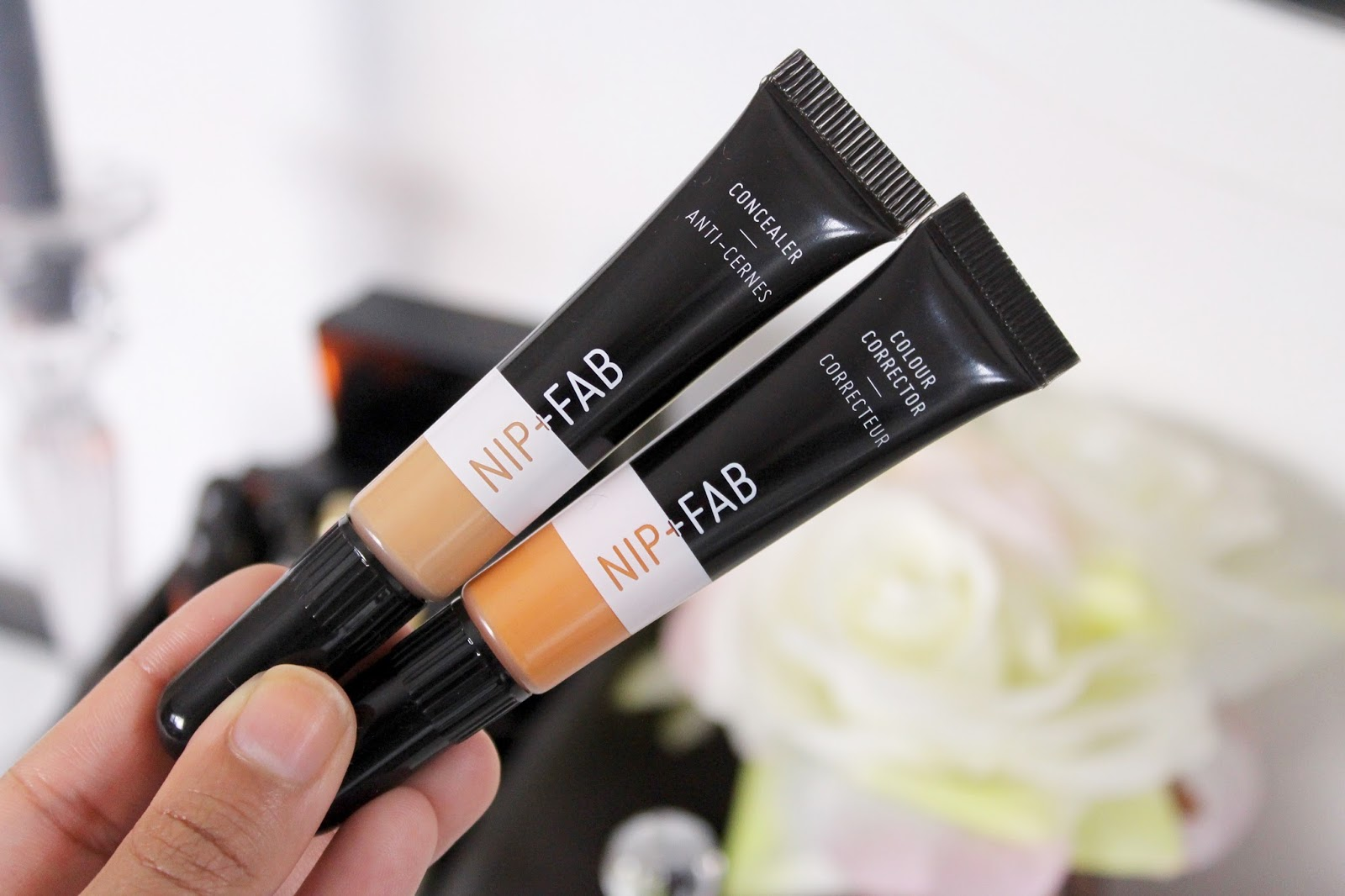 Nip fab concealercorrector review little london blogger a few days ago i picked up the concealer in 20 and the orange corrector after seeing quite a few people on instagram using them in mini tutorials izmirmasajfo