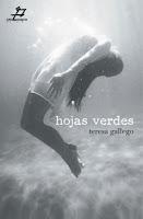 """Portada del libro """"Hojas verdes"""", de Teresa Gallego"""