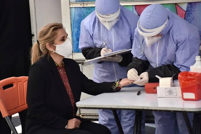Coronavirus hits Bolivia, President Anez, 7 ministers test positive