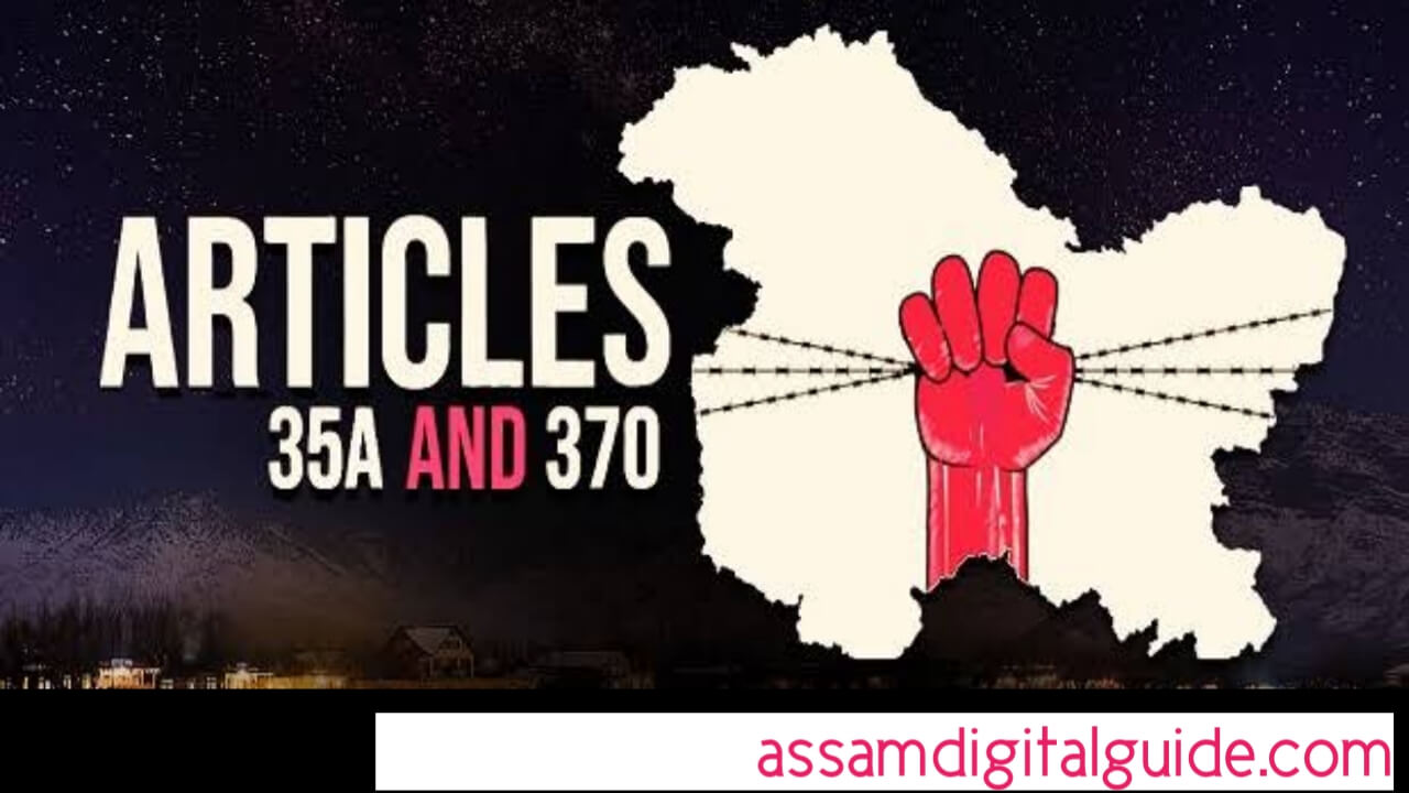 Article 370 Full Informations in Assamese