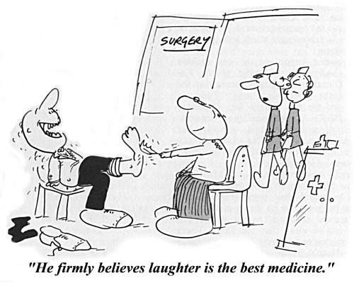 Healing With Smiles : Laughter is the best medicine