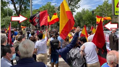 المغرب يرعب اسبانيا..الاسبان يتظاهرون أمام سفارة المملكة بمدريد و يعترفون بقوة المغرب