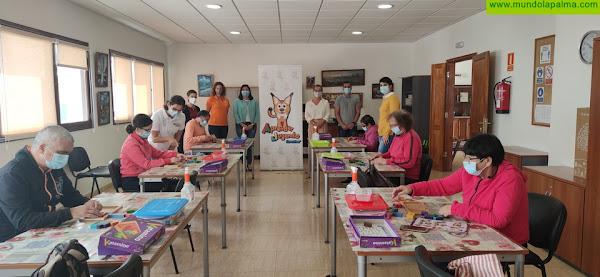 El Cabildo y el Ayuntamiento de Villa De Mazo promueven los ejercicios cognitivos en el Centro Ocupacional Garehagua a través de la actividad Aprender Jugando La Palma