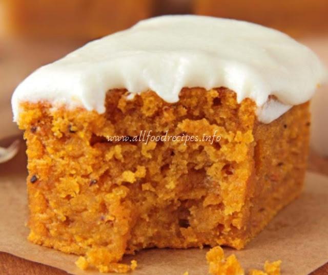 Delicious Pumpkin & Cream Cheese