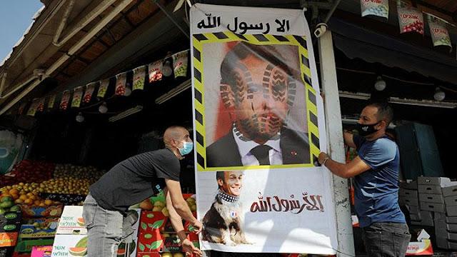 Buntut Penistaan Nabi Muhammad,  Pria Arab Saudi Serang Konsulat Prancis