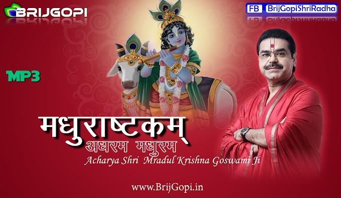 Madhurashtakm : Adharam Madhuram [ Acharya Shri Mradul Krishna Goswami Ji Maharaj]