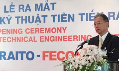Ông to xây dựng Nhật Bản tự tin sẽ thành công tại Việt Nam