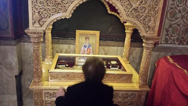 Λείψανο του Οσίου Παχωμίου του εν Χίω https://leipsanothiki.blogspot.be/