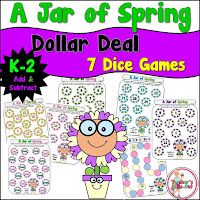 A Jar of Spring Addition Games