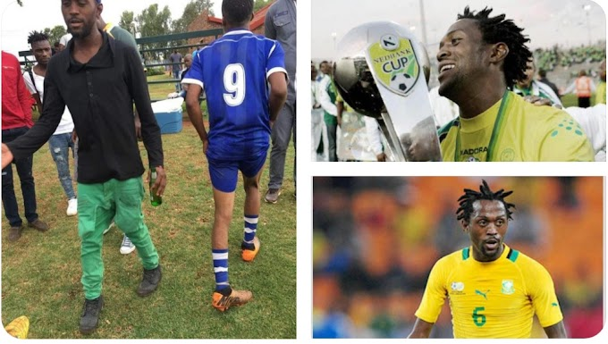 Former soccer player Lerato Chabangu before and after pictures - only God can judge