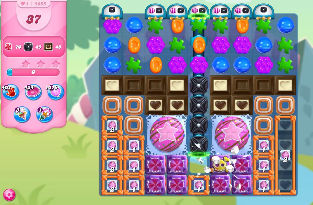 Candy Crush Saga level 9655