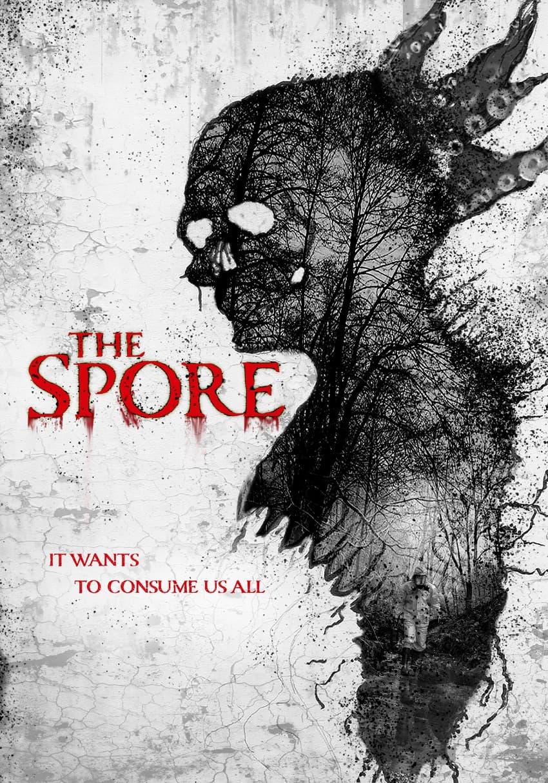 Lionsgate в ноябре покажет фантастический фильм ужасов «Спора» - Постер и обложка DVD